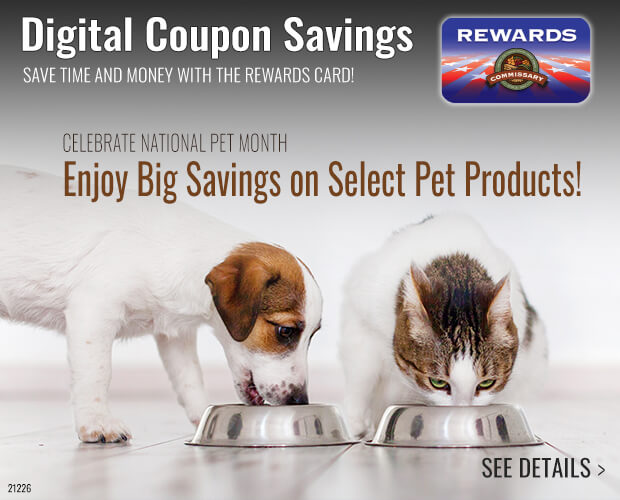 Pet Products Digital Coupons