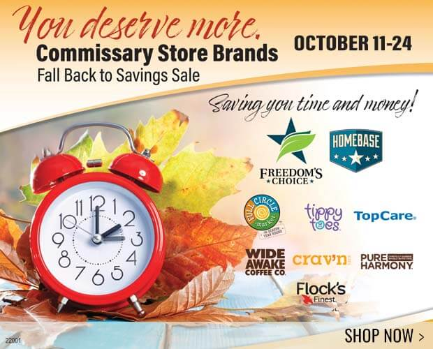 Commissary Store Brand Fall Sale