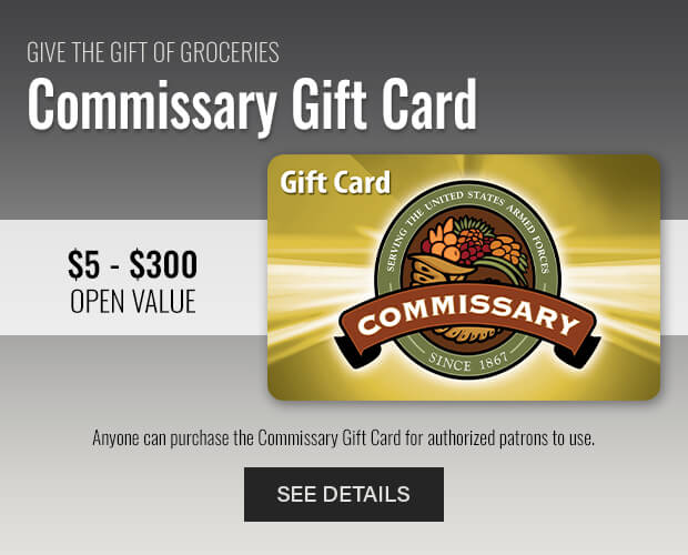 Commissary Gift Cards